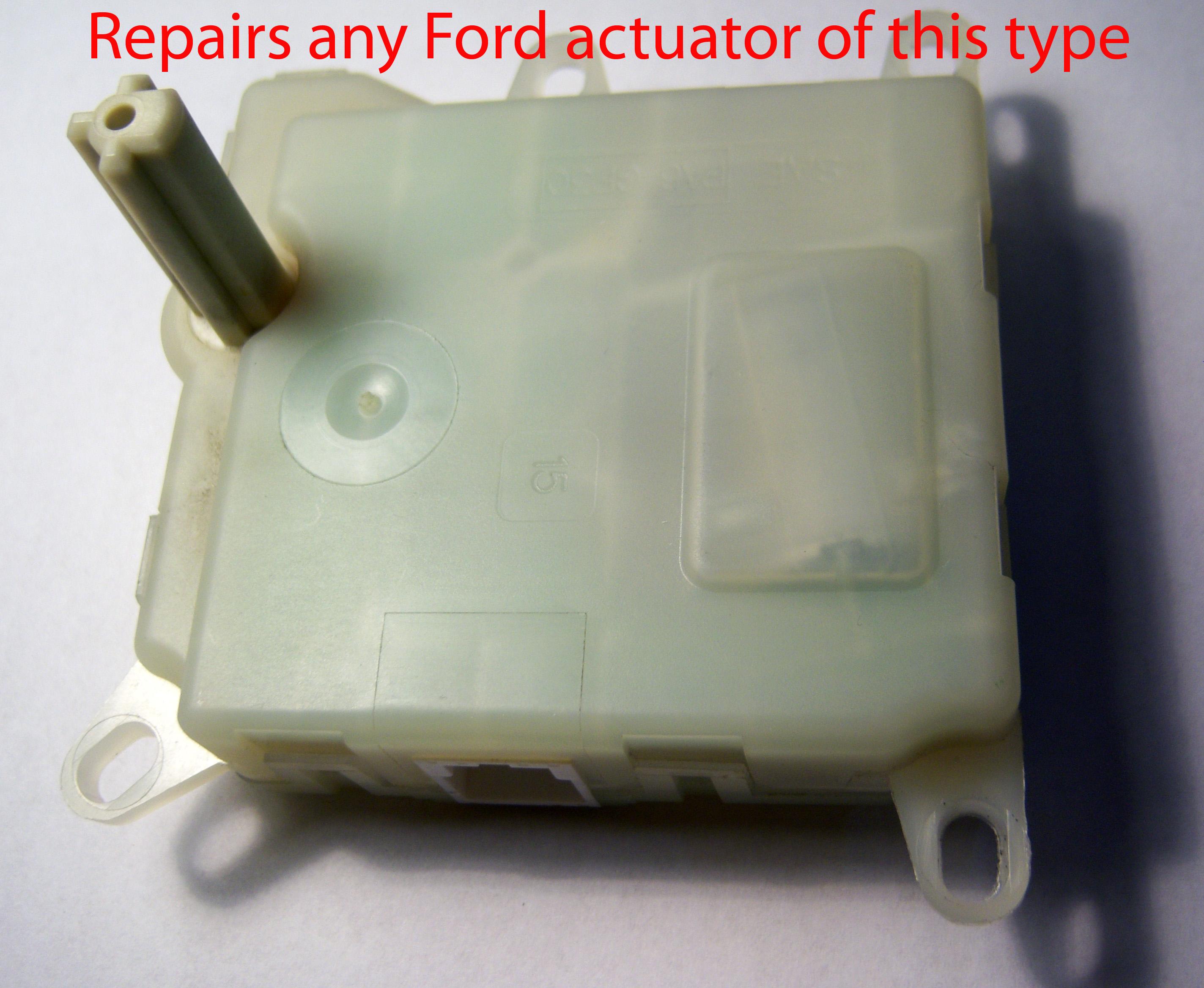 Ford Blend Door Actuator Rebuild Kit Blenddoor
